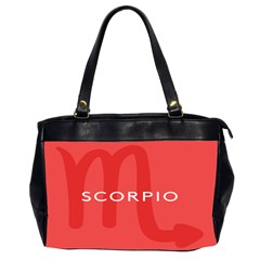 Zodiac Scorpio Office Handbags (2 Sides)  by Mariart