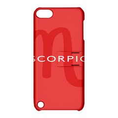 Zodiac Scorpio Apple Ipod Touch 5 Hardshell Case With Stand by Mariart