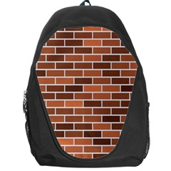 Brick Brown Line Texture Backpack Bag by Mariart