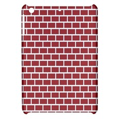 Brick Line Red White Apple Ipad Mini Hardshell Case by Mariart