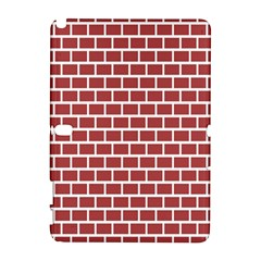 Brick Line Red White Galaxy Note 1 by Mariart