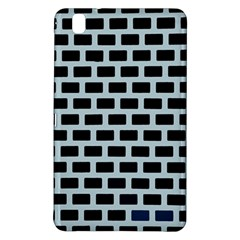 Bricks Black Blue Line Samsung Galaxy Tab Pro 8 4 Hardshell Case by Mariart