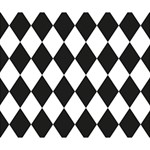 Broken Chevron Wave Black White Deluxe Canvas 14  x 11  14  x 11  x 1.5  Stretched Canvas