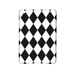 Broken Chevron Wave Black White Ipad Mini 2 Hardshell Cases by Mariart