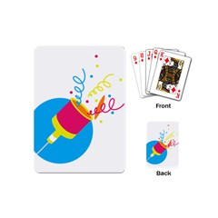 Celebration Injecting Playing Cards (mini)  by Mariart