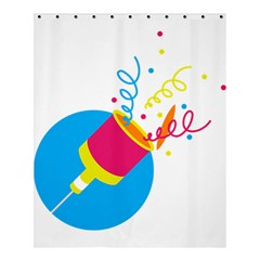 Celebration Injecting Shower Curtain 60  X 72  (medium)  by Mariart