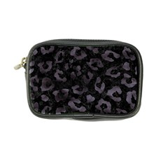 Skin5 Black Marble & Black Watercolor (r) Coin Purse by trendistuff