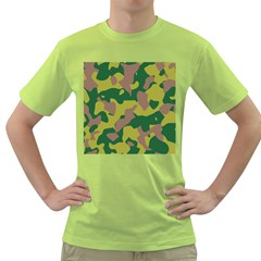 Camouflage Green Yellow Brown Green T Shirt by Mariart