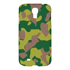 Camouflage Green Yellow Brown Samsung Galaxy S4 I9500/i9505 Hardshell Case by Mariart