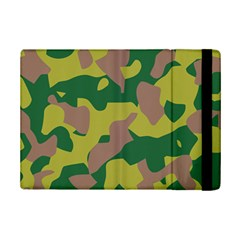 Camouflage Green Yellow Brown Ipad Mini 2 Flip Cases by Mariart