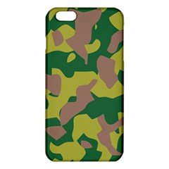 Camouflage Green Yellow Brown Iphone 6 Plus/6s Plus Tpu Case by Mariart