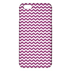 Chevron Wave Purple White Iphone 6 Plus/6s Plus Tpu Case by Mariart