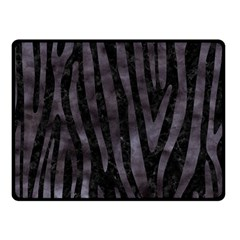 Skin4 Black Marble & Black Watercolor (r) Double Sided Fleece Blanket (small) by trendistuff