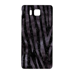 Skin4 Black Marble & Black Watercolor (r) Samsung Galaxy Alpha Hardshell Back Case by trendistuff