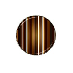 Brown Line Image Picture Hat Clip Ball Marker by Mariart