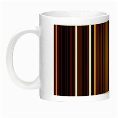Brown Line Image Picture Night Luminous Mugs by Mariart