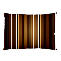 Brown Line Image Picture Pillow Case by Mariart