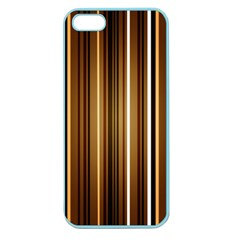 Brown Line Image Picture Apple Seamless Iphone 5 Case (color) by Mariart