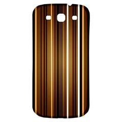 Brown Line Image Picture Samsung Galaxy S3 S Iii Classic Hardshell Back Case by Mariart
