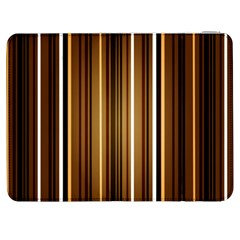 Brown Line Image Picture Samsung Galaxy Tab 7  P1000 Flip Case by Mariart