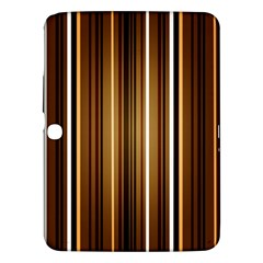 Brown Line Image Picture Samsung Galaxy Tab 3 (10 1 ) P5200 Hardshell Case  by Mariart