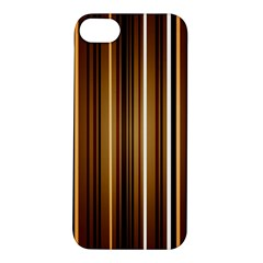 Brown Line Image Picture Apple Iphone 5s/ Se Hardshell Case by Mariart