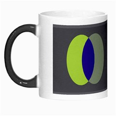 Circles Line Color Rainbow Green Orange Red Blue Morph Mugs by Mariart