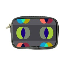 Circles Line Color Rainbow Green Orange Red Blue Coin Purse by Mariart