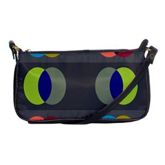 Circles Line Color Rainbow Green Orange Red Blue Shoulder Clutch Bags by Mariart