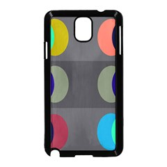 Circles Line Color Rainbow Green Orange Red Blue Samsung Galaxy Note 3 Neo Hardshell Case (black) by Mariart