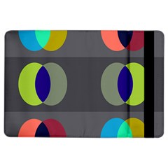 Circles Line Color Rainbow Green Orange Red Blue Ipad Air 2 Flip by Mariart