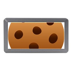 Cookie Chocolate Biscuit Brown Memory Card Reader (mini) by Mariart