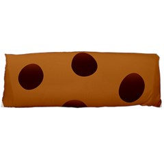 Cookie Chocolate Biscuit Brown Body Pillow Case Dakimakura (two Sides) by Mariart