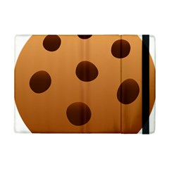 Cookie Chocolate Biscuit Brown Ipad Mini 2 Flip Cases by Mariart