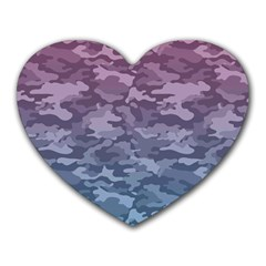 Celebration Purple Pink Grey Heart Mousepads by Mariart