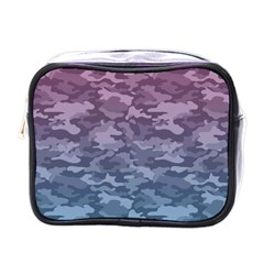 Celebration Purple Pink Grey Mini Toiletries Bags by Mariart
