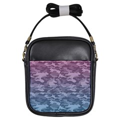 Celebration Purple Pink Grey Girls Sling Bags by Mariart