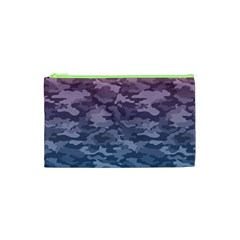 Celebration Purple Pink Grey Cosmetic Bag (xs) by Mariart