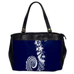 Coral Life Sea Water Blue Fish Star Office Handbags by Mariart