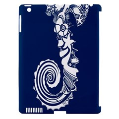 Coral Life Sea Water Blue Fish Star Apple Ipad 3/4 Hardshell Case (compatible With Smart Cover) by Mariart