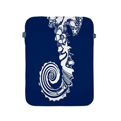 Coral Life Sea Water Blue Fish Star Apple Ipad 2/3/4 Protective Soft Cases