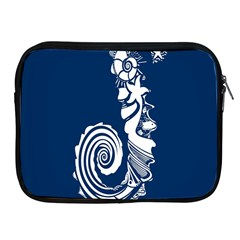 Coral Life Sea Water Blue Fish Star Apple Ipad 2/3/4 Zipper Cases by Mariart