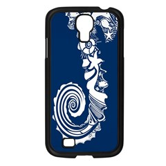 Coral Life Sea Water Blue Fish Star Samsung Galaxy S4 I9500/ I9505 Case (black) by Mariart