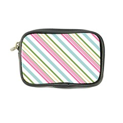 Diagonal Stripes Color Rainbow Pink Green Red Blue Coin Purse by Mariart