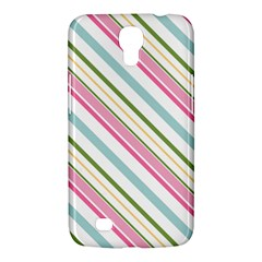 Diagonal Stripes Color Rainbow Pink Green Red Blue Samsung Galaxy Mega 6 3  I9200 Hardshell Case by Mariart