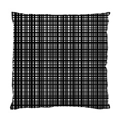 Crosshatch Target Line Black Standard Cushion Case (two Sides) by Mariart