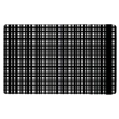 Crosshatch Target Line Black Apple Ipad 2 Flip Case by Mariart