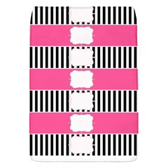 Custom Water Bottle Labels Line Black Pink Flap Covers (s)  by Mariart