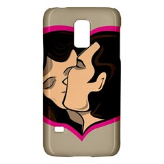 Don t Kiss With A Bloody Nose Face Man Girl Love Galaxy S5 Mini by Mariart