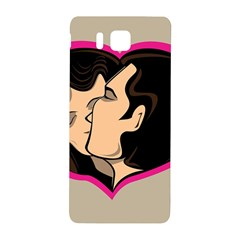 Don t Kiss With A Bloody Nose Face Man Girl Love Samsung Galaxy Alpha Hardshell Back Case by Mariart